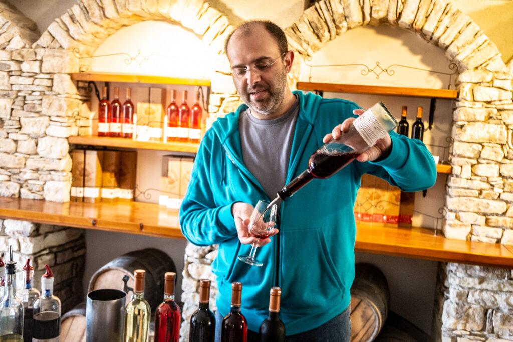 Komandarija w muzeum wina
