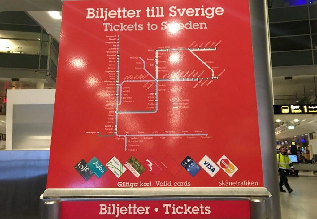 Kopenhaga – bilety do Szwecji. Komunikacja miejska.