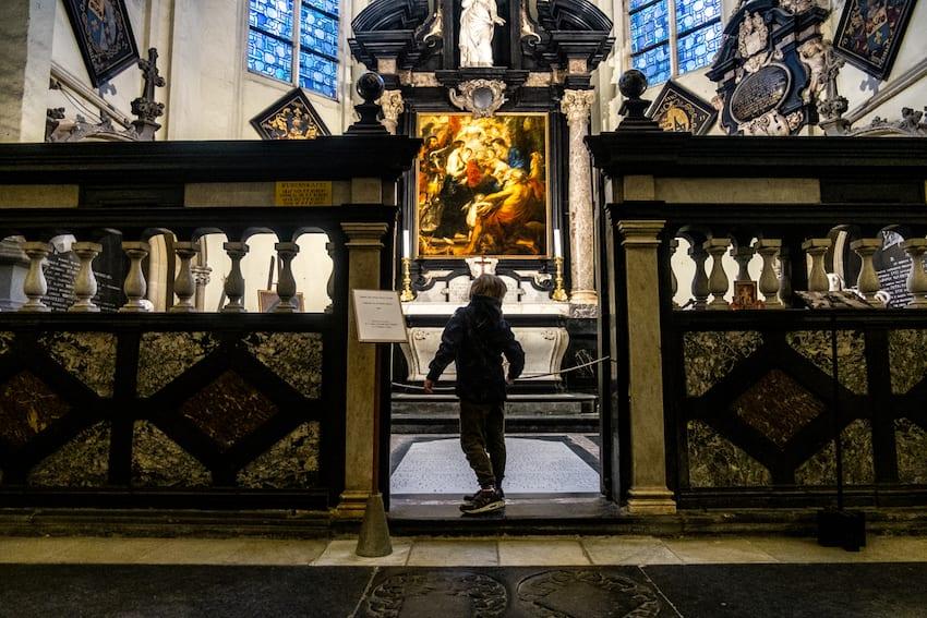 Grób Rubensa, Antwerpia