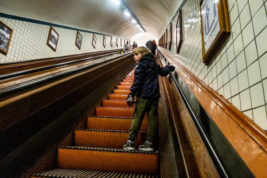 Tunel św. Anny, Antwerpia
