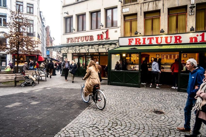 Frituur no. 1, Antwerpia