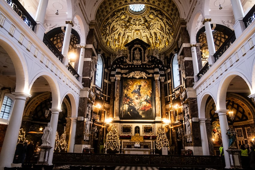 Antwerpia, kościół Karola Boromeusza