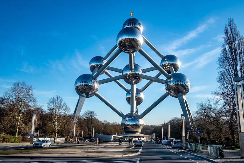 Atomium w Brukseli