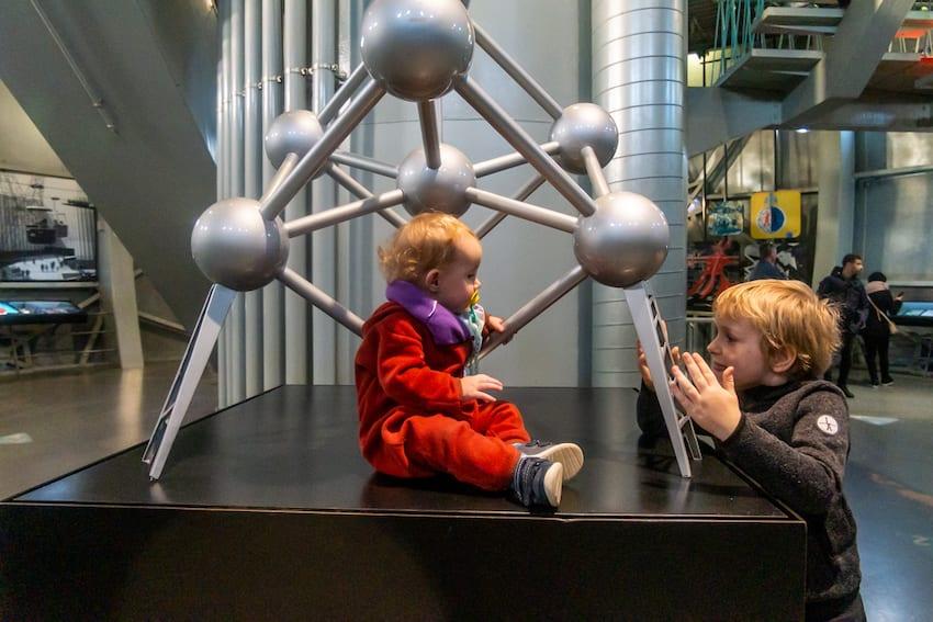 Wystawa stała w Atomium w Brukseli