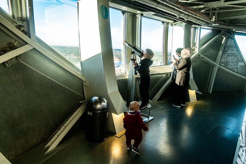 Na tarasie Atomium