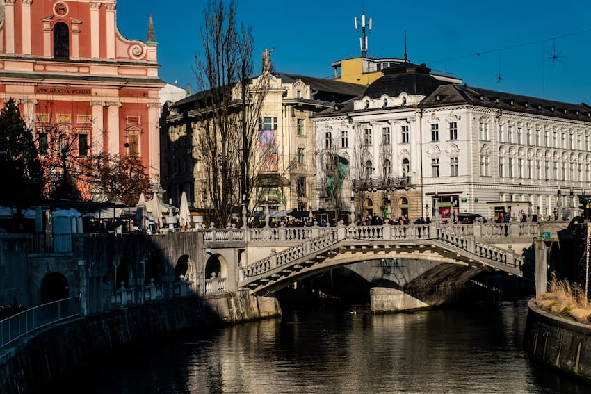 Ljubljana – miasto mostów