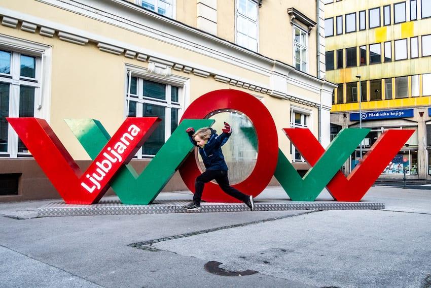 Ljubljana to miasto przyjazne dzieciom.