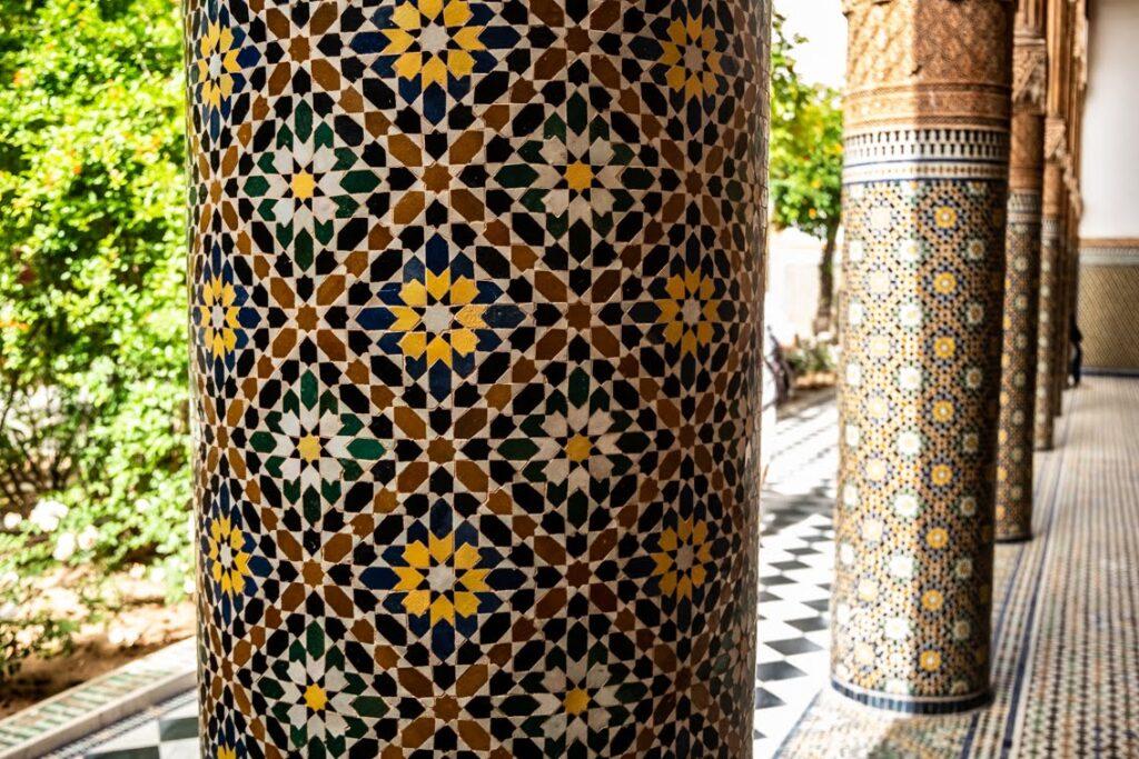 Piękny pałac Paszy Glaoui Dar El Bacha.