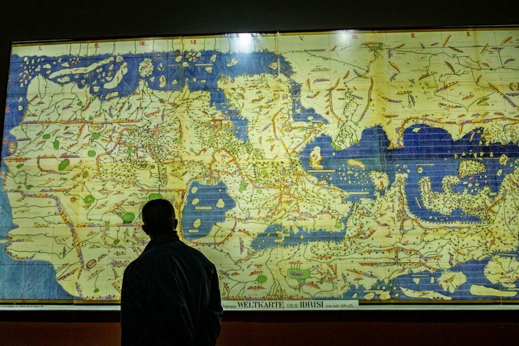 Mapa w Dar El Bacha
