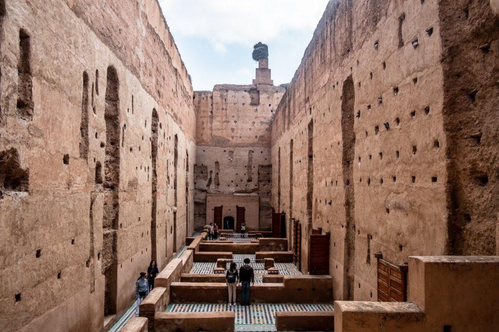 ruiny pałacu El Badi