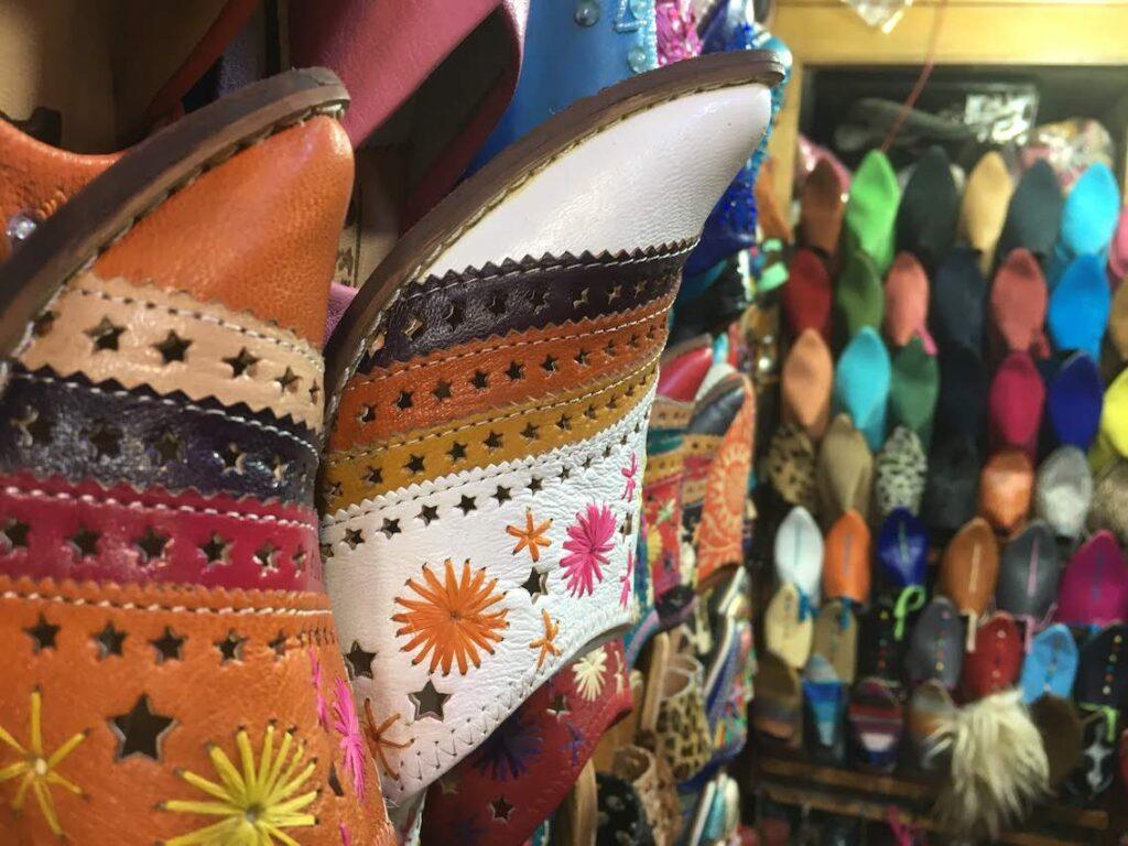 Babouche marokańskie