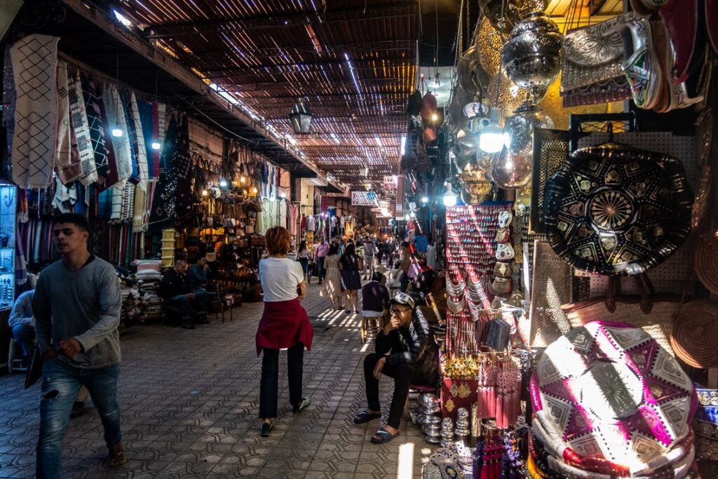 Bazarek w Marrakeszu