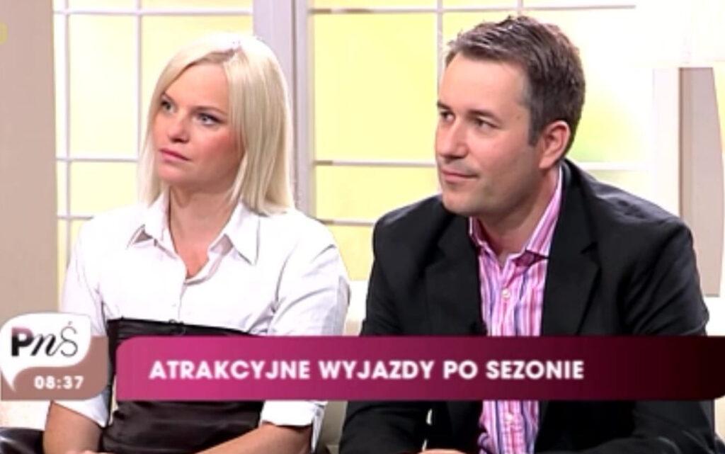 Magdalena i Sergiusz Pinkwart TVP podróże z dziećmi blog