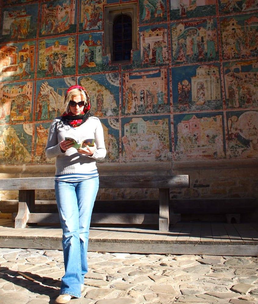 Rumunia malowane cerkwie Magdalena Pinkwart
