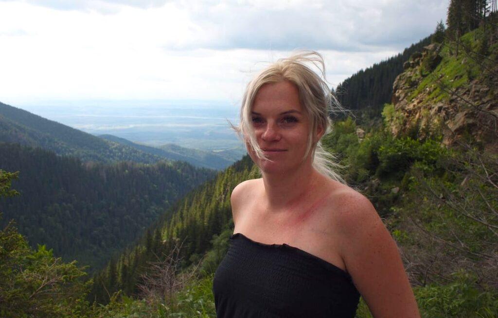 Trasa Transfogarska Magdalena Pinkwart
