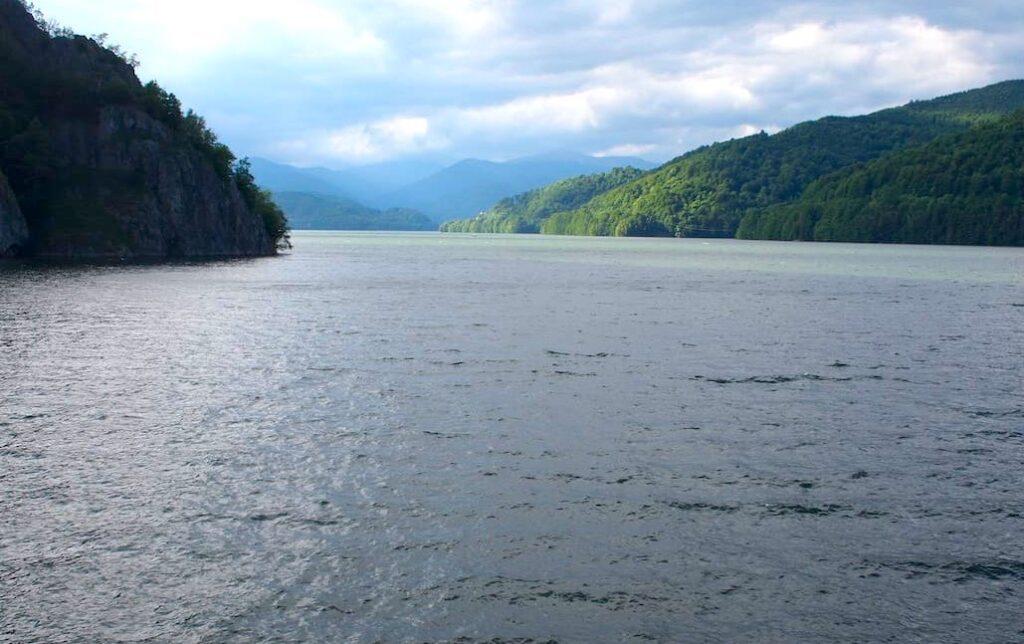 Trasa Transfogarska, jezioro Vidraru