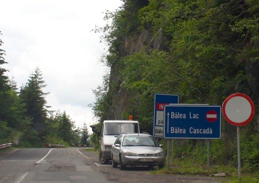 Trasa Transfogarska – zakaz wjazdu
