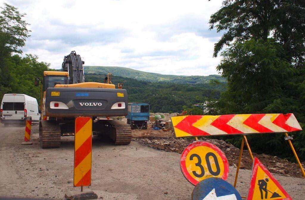 Trasa Transfogarska – droga w budowie