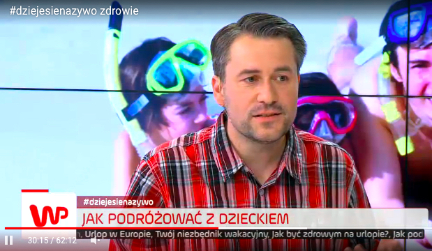 Sergiusz Pinkwart w telewizji wp.pl