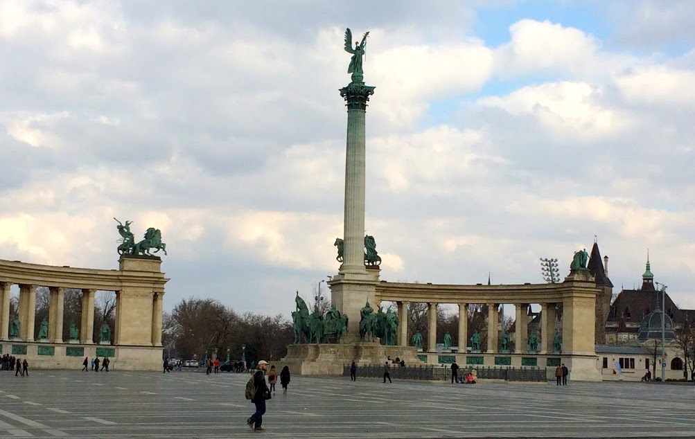 Budapeszt plac Bohaterów