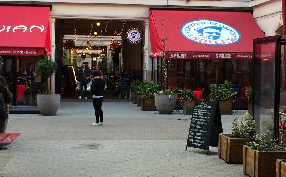 Király utca Budapeszt