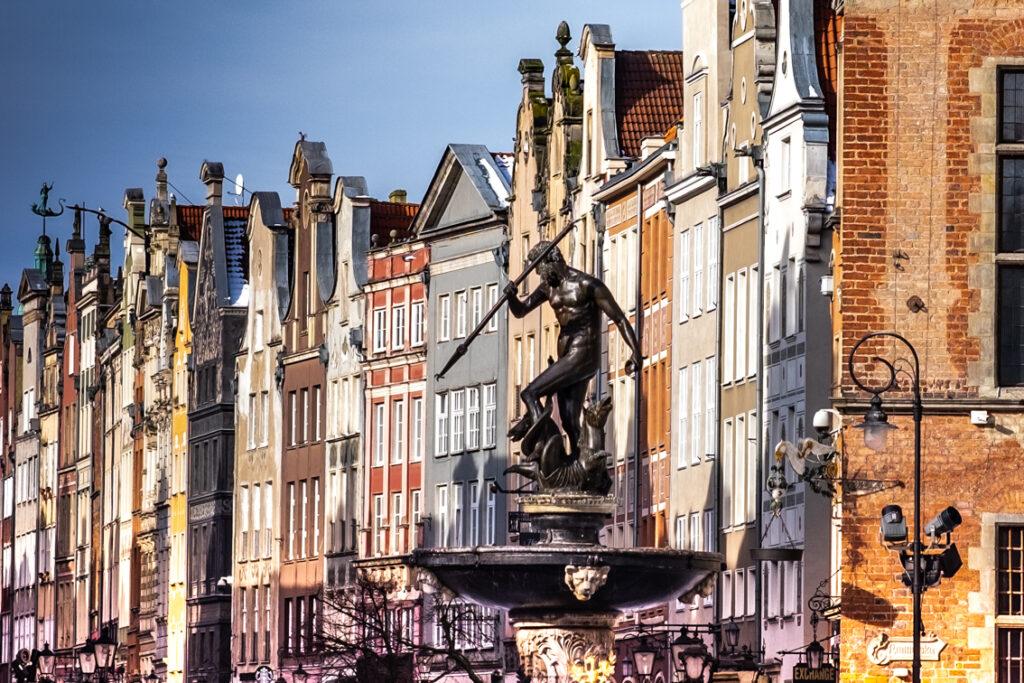 Neptun to symbol Gdańska. Gdańsk na weekend.