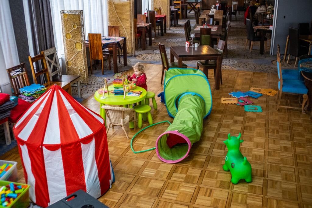 hotel lenart kącik dla dzieci