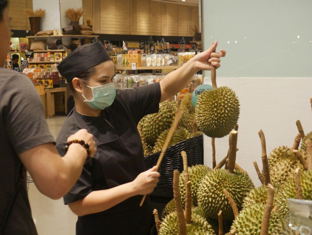 durian tajlandia