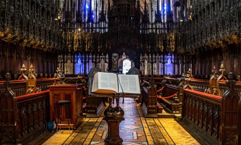 chester darmowe atrakcje katedra